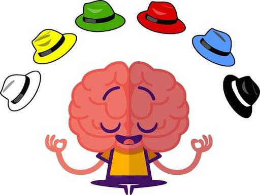 أوراق-تك قبعات التفكير الست