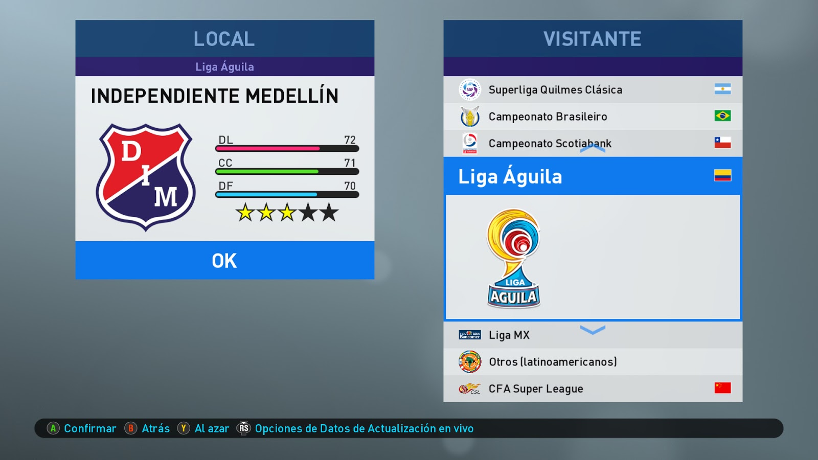 ICMP V2 0   Option File Updated   Season 2020   PES2019   PC   Steam
