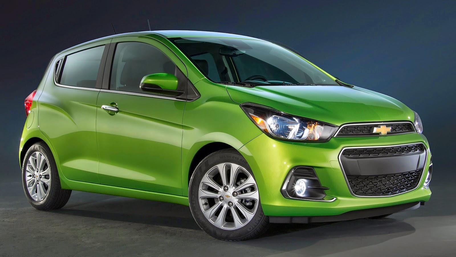 Chevrolet apresenta o compacto Spark 2016 146b8ccde5f03