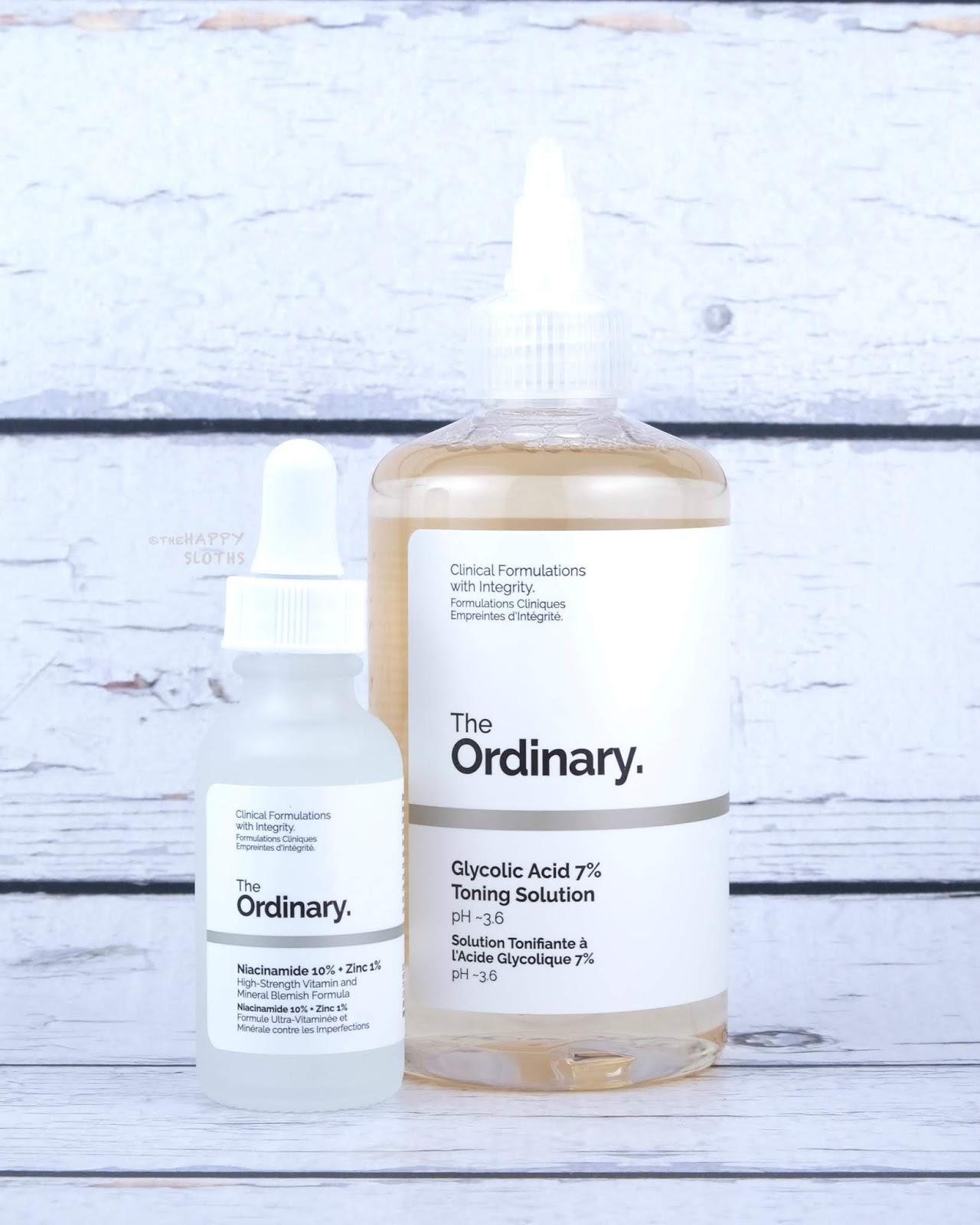 DECIEM | The Ordinary Glycolic Acid 7% Toning Solution & Niacinamide 10% + Zinc 1%: Review