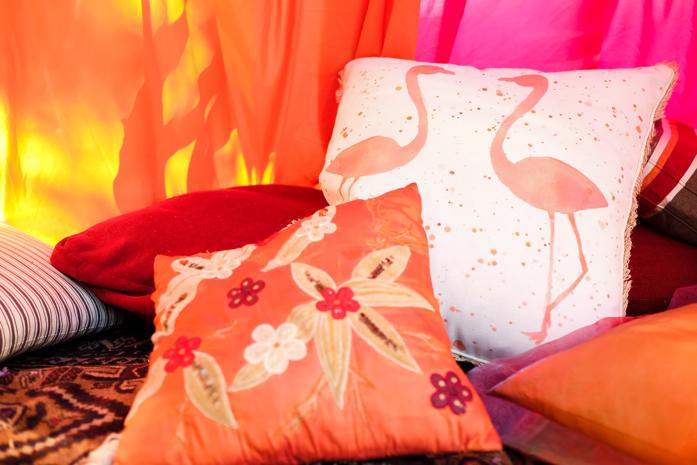 DIY Boho Tent for Fall Outdoor Entertaining