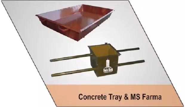 MS tray and farma