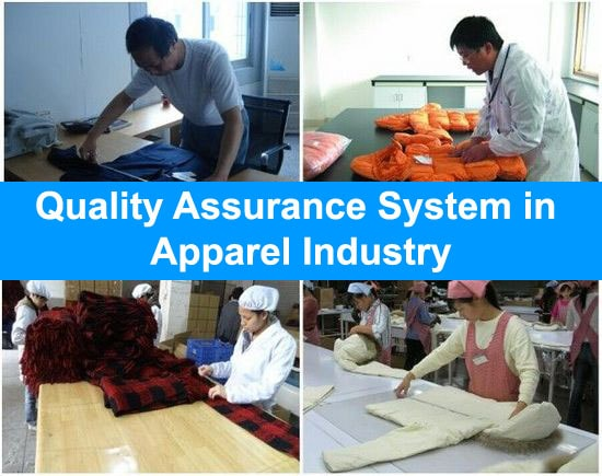 quality assurance system in garment industry