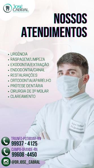 Dentes alinhados e sorriso perfeito é com Dr. José Cabral em Campo Grande, Upanema e Triunfo Potigua