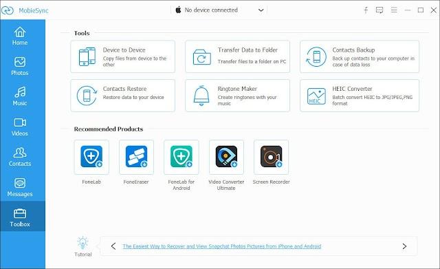 Aiseesoft MobieSync 2.0.16 + Patch - Sao chép dữ liệu cho IOS