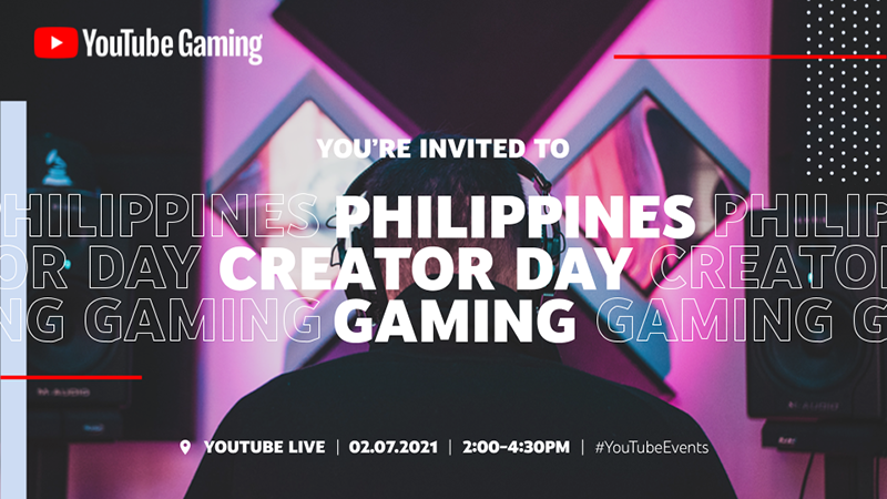 YouTube announces the first Philippines Creator Day: Gaming to grow the Filipino gaming creators community