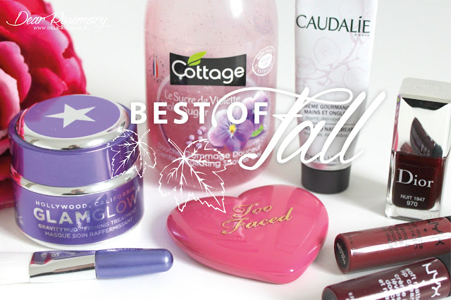 The ''best of fall'' : mes découvertes beauty & co