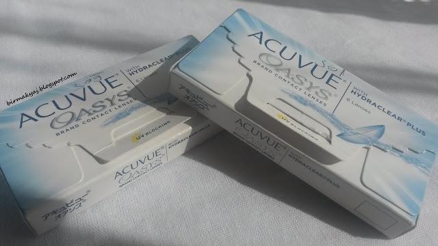 Acuvue Oasys - Saydam Lens numaralı