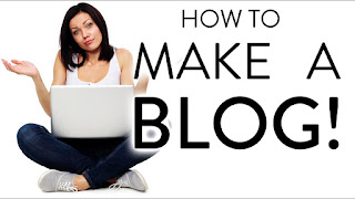 How to make a free blog or website
