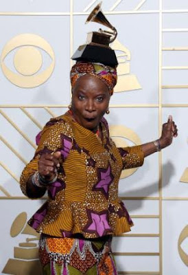 Angelique Kidjo wins grammy award