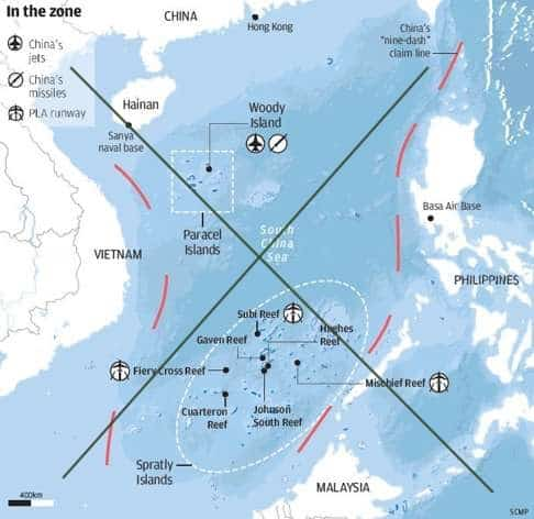Trung Quốc lên kế hoạch lập khu vực nhận dạng phòng không (ADIZ) ở Biển Đông