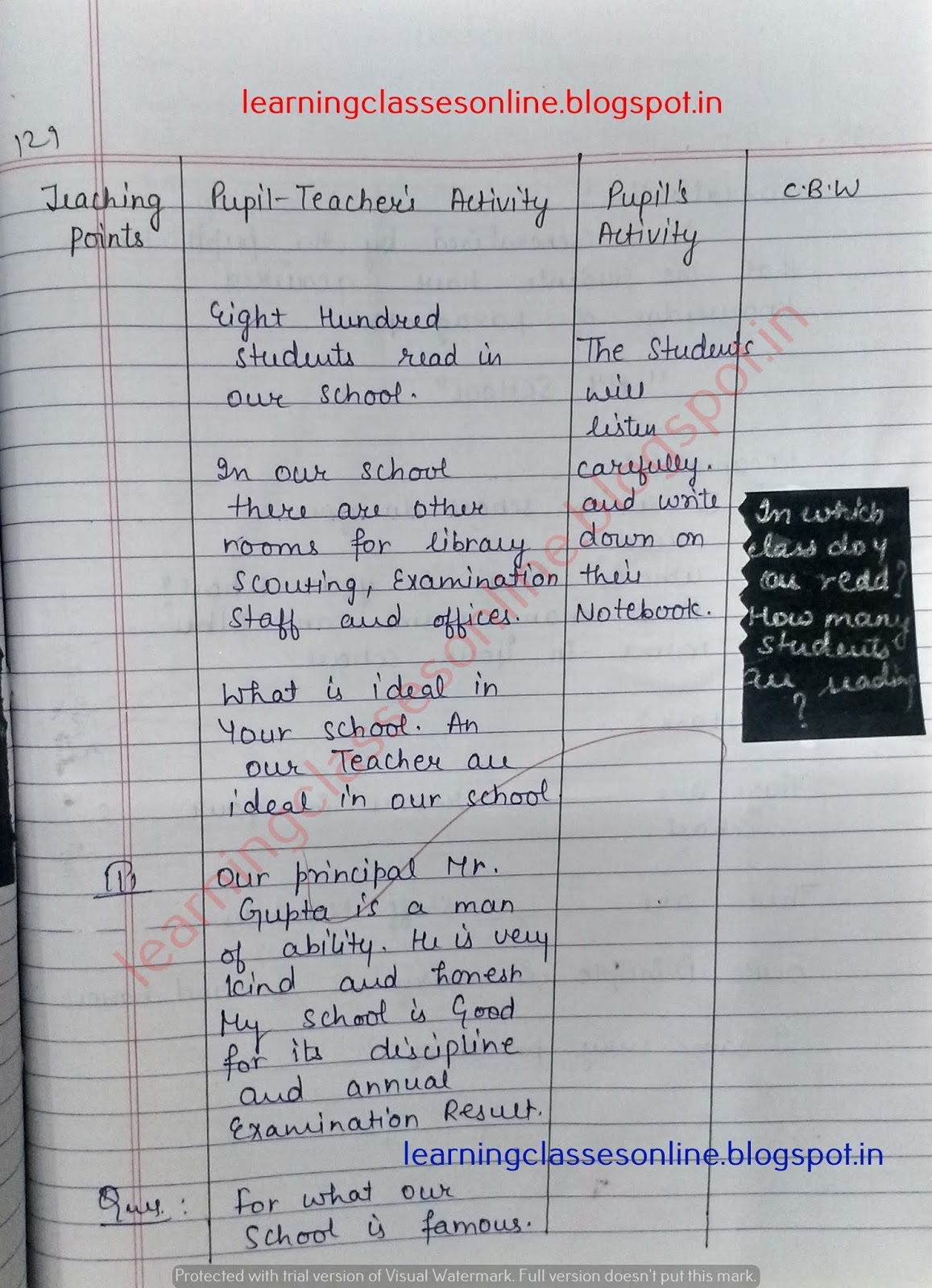 detailed lesson plan for grade 1 english,