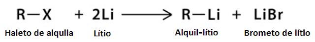 preparo reagente Gilman - etapa 1