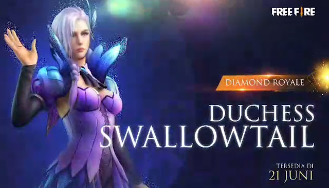 Bundle Diamond Royale Free Fire Terbaru Duches Swallowtail