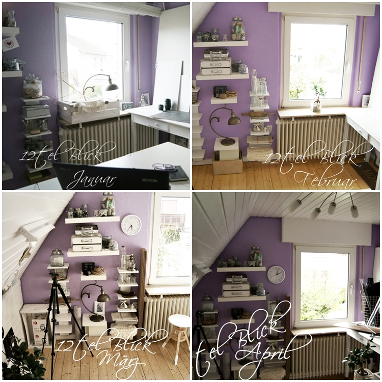 Collage 12tel Blick ins Fotostudio