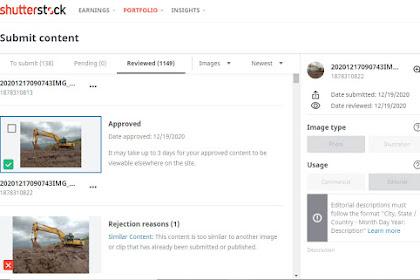 Cara Upload Foto Shutterstock Supaya di Approve dan Cepat Terjual