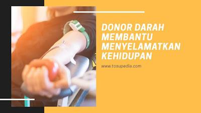 Donor Darah Membantu Menyelamatkan Kehidupan