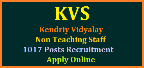 kvs-non-teaching-staff-librarians-ldc-udc-1017-vacanices-recruitment-apply-online-download-notification