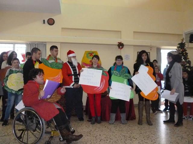 Χριστουγεννιάτικη γιορτή του Ενιαίου Ειδικού Επαγγελματικού Γυμνασίου-Λυκείου Αργολίδας