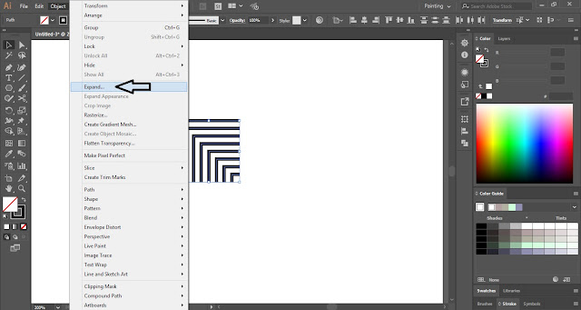 How to create Overlapping Pattern in Adobe Illustrator?