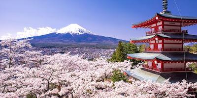 Keindahan Negara Jepang