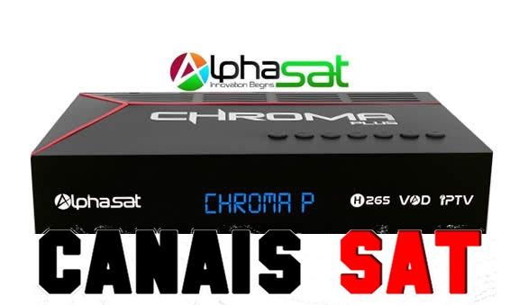Alphasat Chroma Plus Nova Atualização V11.07.31.S60 - 03/08/2019