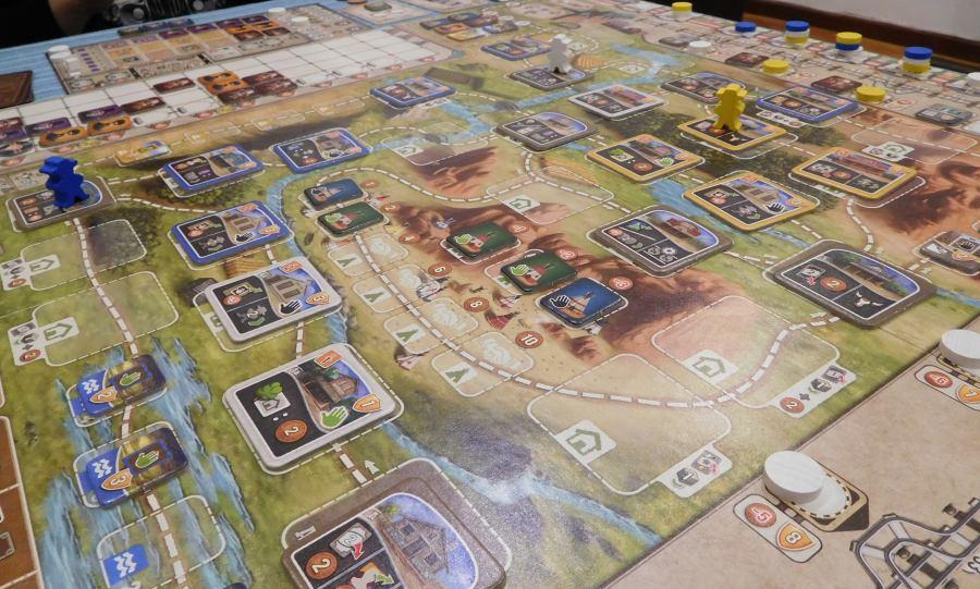 Recensione great western trail giochi sul nostro tavolo - Miglior gioco da tavolo ...