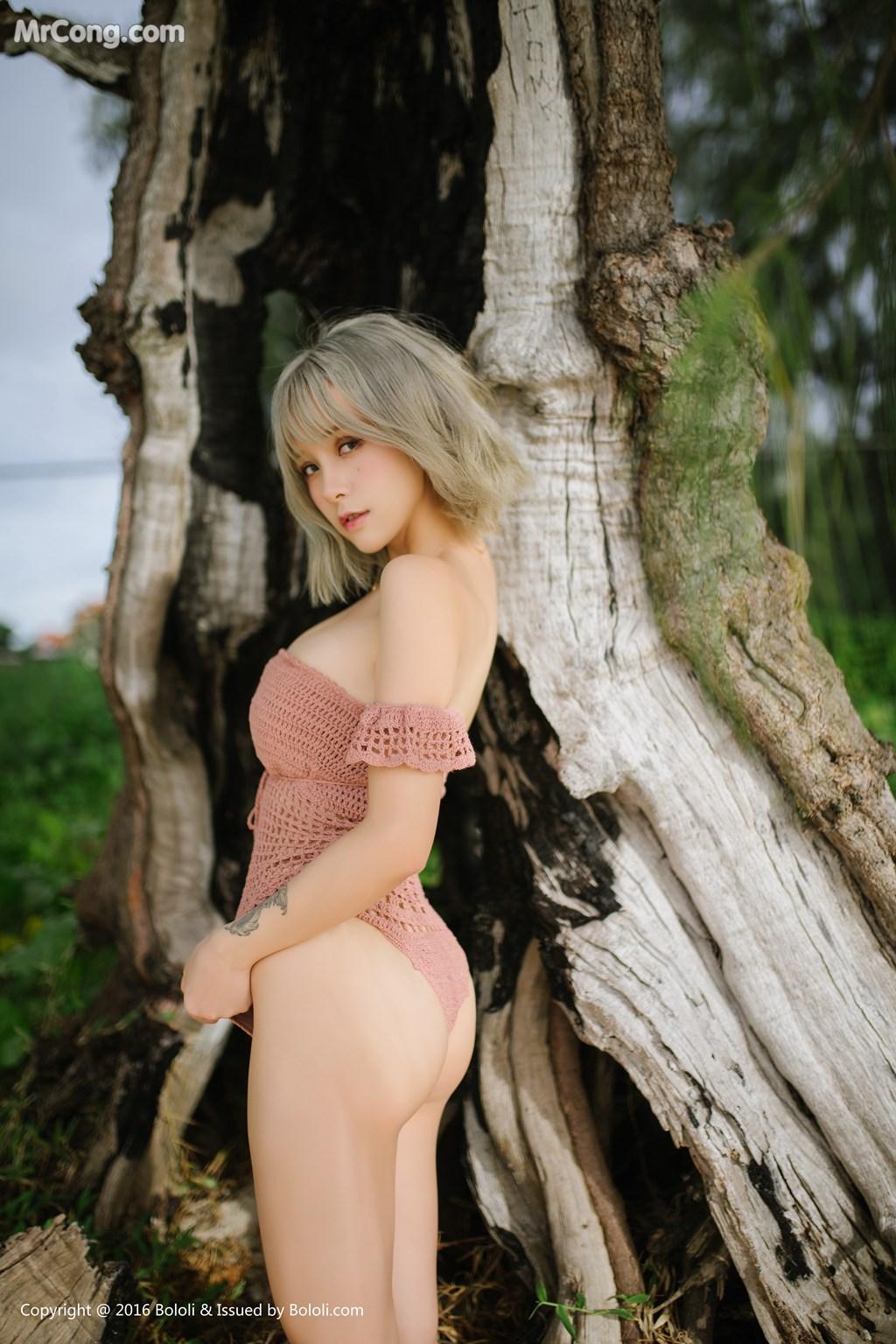 Image Bololi-2017-10-30-Vol.127-Xia-Mei-Jiang-MrCong.com-007 in post Bololi 2017-10-30 Vol.127: Người mẫu Xia Mei Jiang (夏美酱) (62 ảnh)