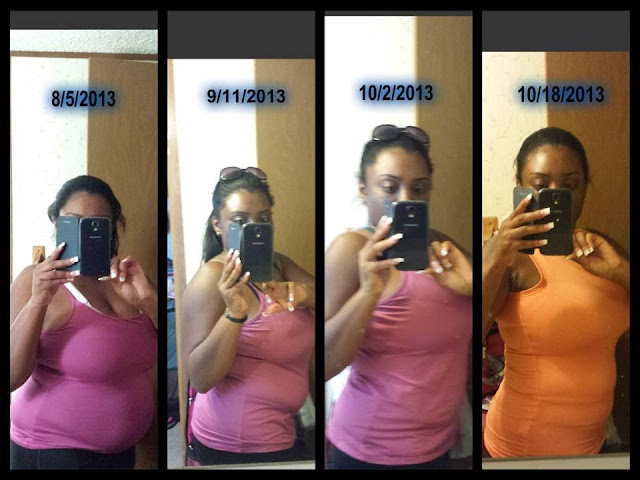 50 pounds lost in 75 days during the Skinny Fiber weight loss challenge