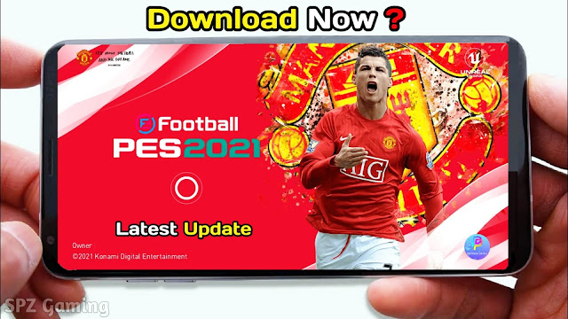 PES 2021 Mobile Patch V5.2.0 Android Best Graphics New Menu Full Original Logo and Kits 2021 Update