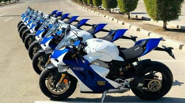 Polisi Resmi Pakai Motor Ducati Seharga Rp560 Juta