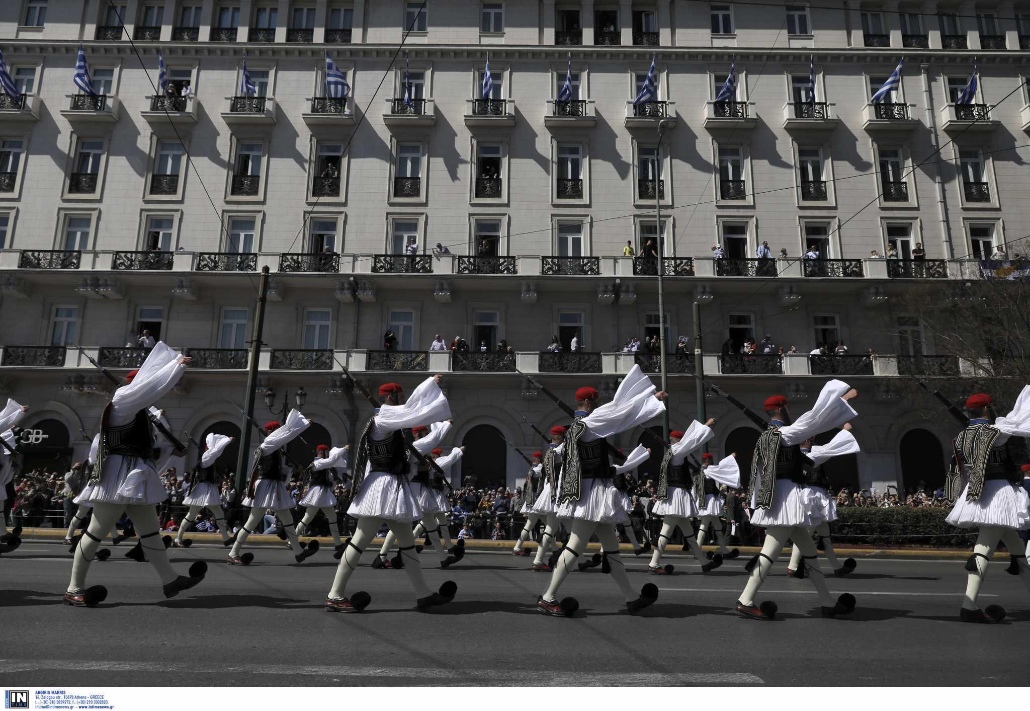 25η Μαρτίου: Μόνο στην Αθήνα στρατιωτική παρέλαση
