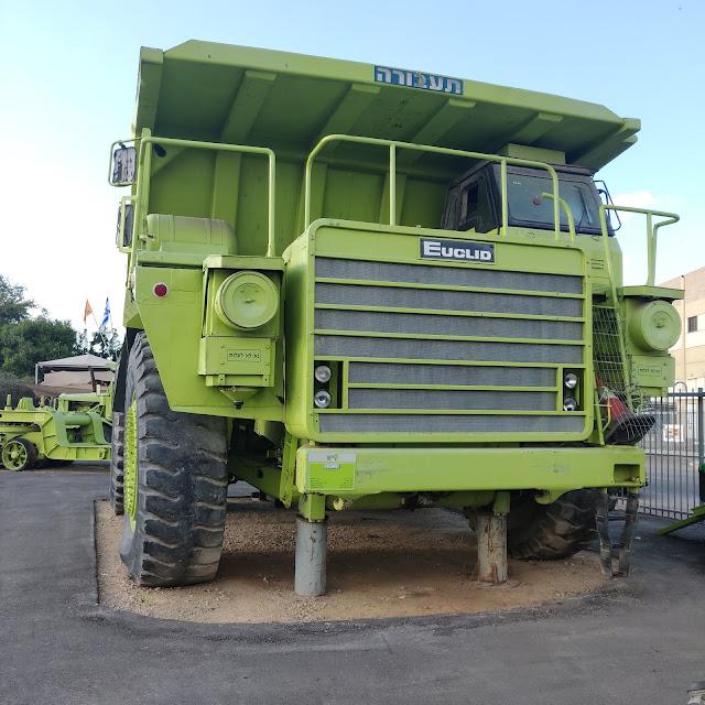 משאית משא במוזיאון התעבורה רמלה