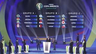 Hasil drawing Copa America 2019