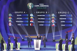 Hasil Drawing Copa Amerika