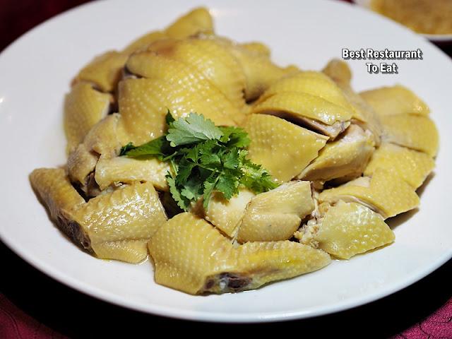 Li Yen CNY 2019 Menu - Chicken Simmered in Bouillon