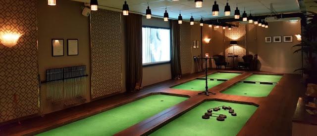 Swing by Golfbaren minigolf in Stockholm, Sweden