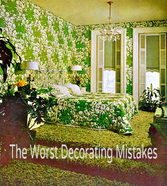 The Worst Decorating Mistakes