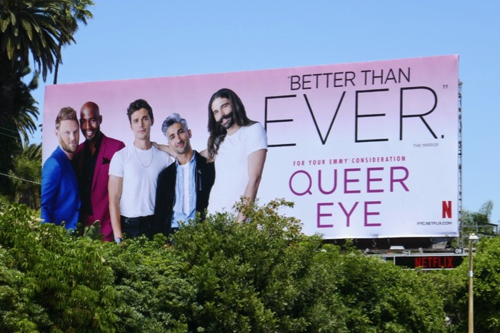 Queer Eye 2019 Emmy consideration billboard
