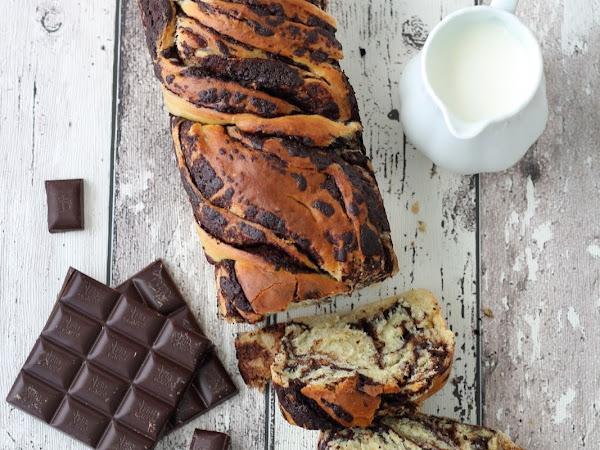 Babka al cioccolato