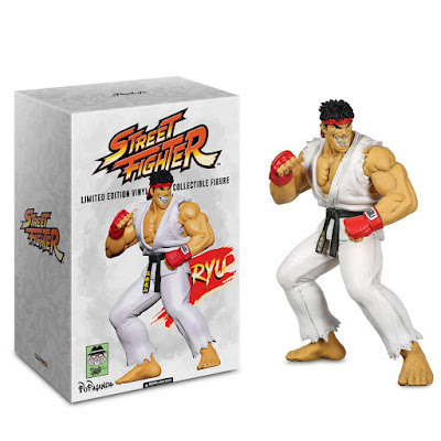 San Diego Comic-Con 2019 Exclusive Street Fighter Grin Vinyl Figure by Ron English x Pop Life Entertainment