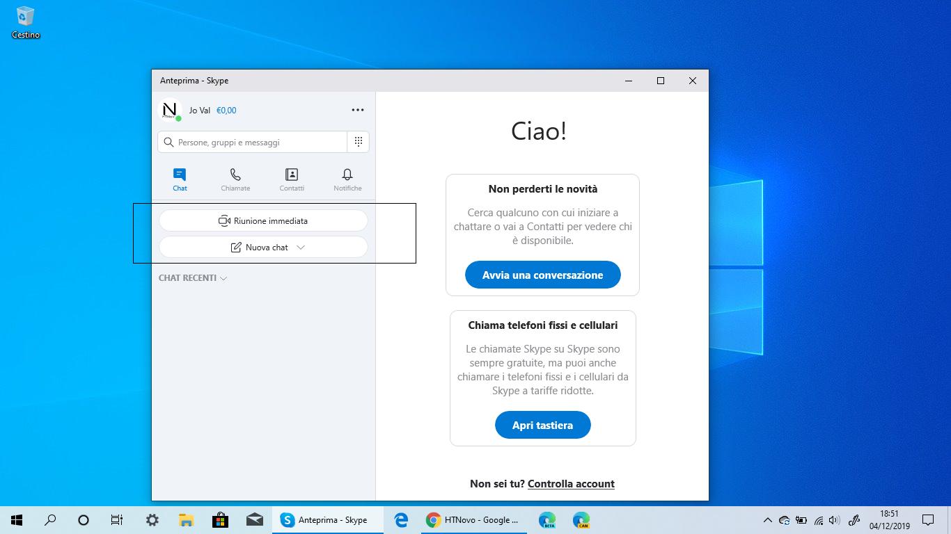Skype per Windows 10 si aggiorna con novità