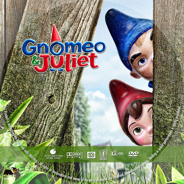 Gnomeu And Juliet DVD Label