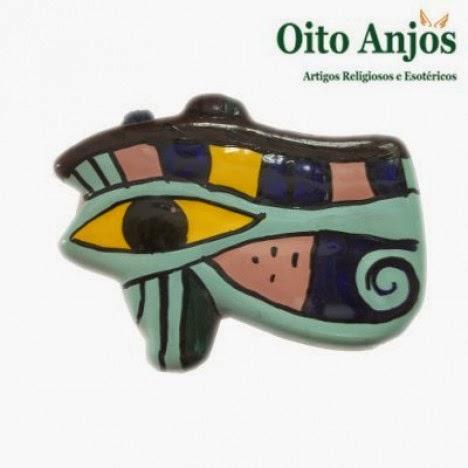 Olho da Lua (Olho de Hórus) | Oito Anjos Artigos Religiosos e Esotéricos