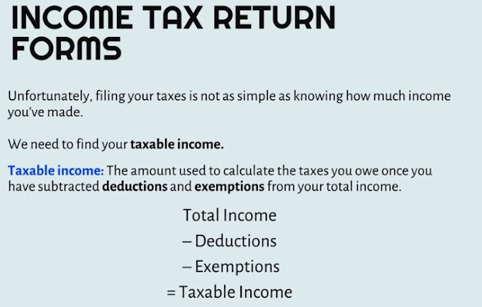 Income Tax Return Forms - Part 2