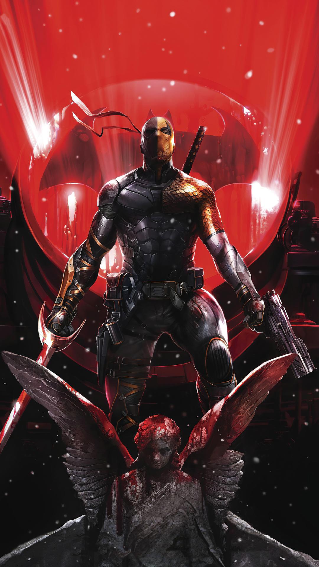 Deathstroke Superheroes Artwork Hd 4k Images