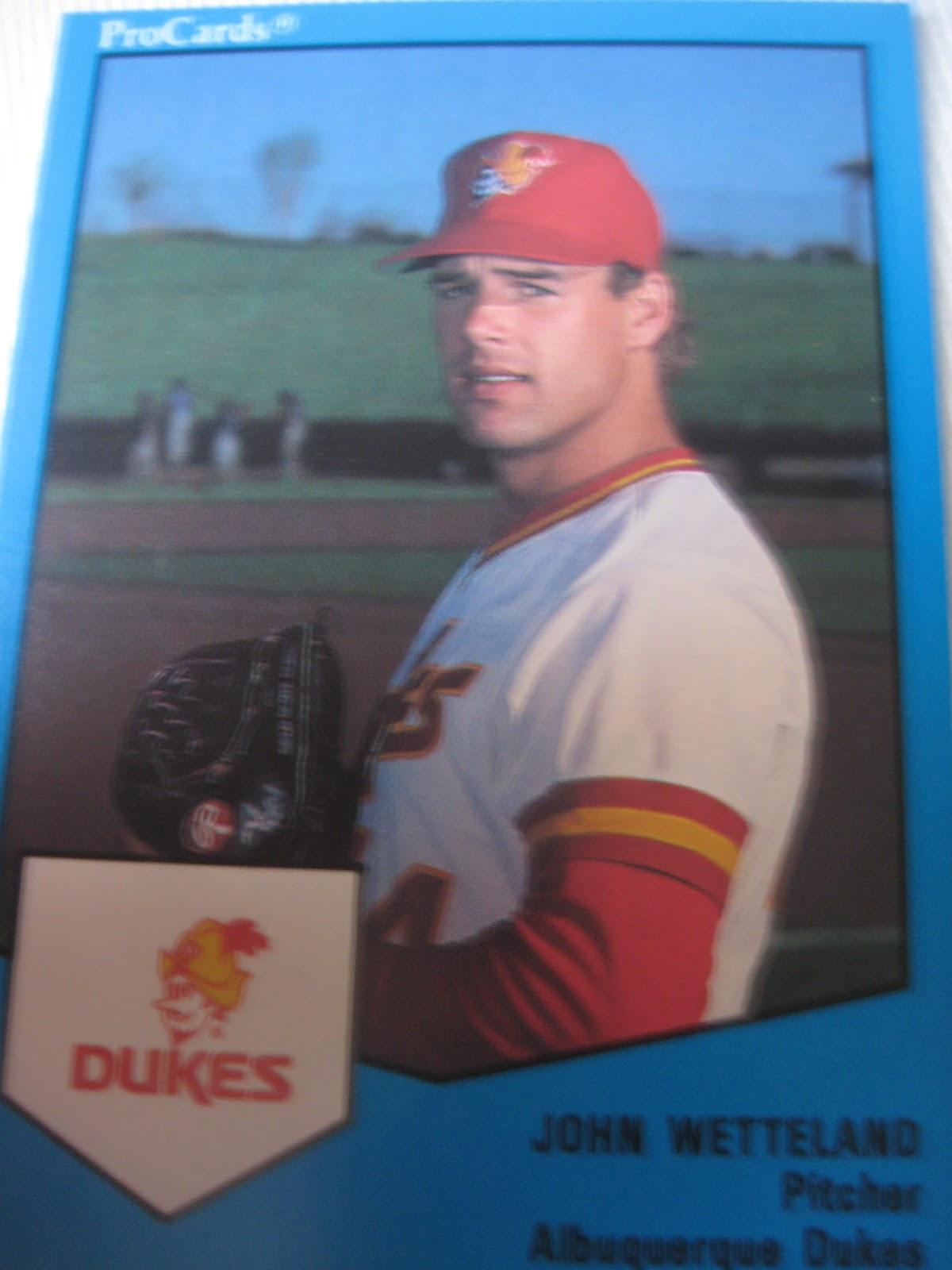 Baseball Cards Come To Life 1989 Albuquerque Dukes Procards