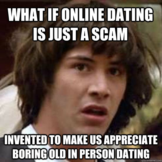 Online dating strange
