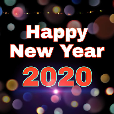 Happy new Year 2020 photo for WhatsApp