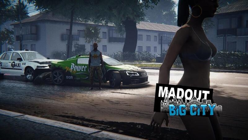 MadOut2 BigCityOnline APK MOD Munição Infinita 2021 v 10.27